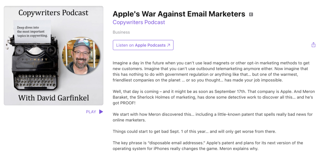 So… email marketing is dead, or something?